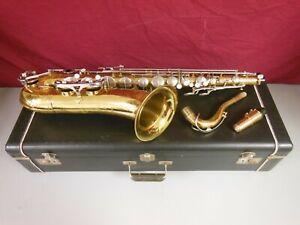 Evette Schaeffer Tenor Saxophone Serial #32323