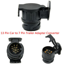 13 Pin Car To 7 Pin Trailer Adapter Converter Tow Bar For Euro Cars 13 Pin Plug