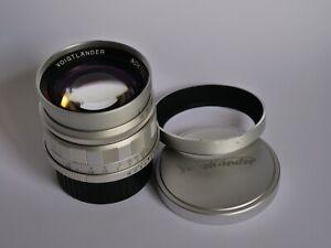 Objectif Voigtlander Nokton 1,5/50mm Silver monture LTM