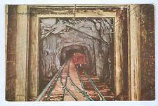 PORTAL OF NEWHOUSE TUNNEL INTERIOR IDAHO SPRINGS CO OLD UNUSED POSTCARD PC4427