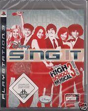 Ps3 Sing It 'High School Musical 3-senior year' nuevo/new/embalaje original 1-8 jugadores