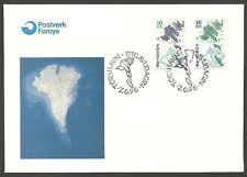 Farör/carte geografiche MiNr 303/04 FDC