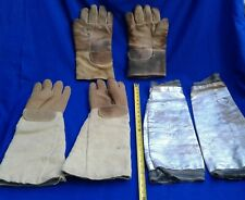 Glass Blowing High Temperature Protection Heat Resistant Wale-Gloves Two Pairs