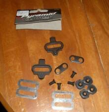 Shimano SPD Compatable Clipless Road Bike Pedals SPD Cleats Pyramid