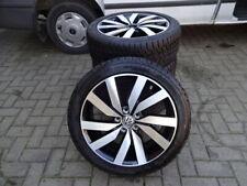 Original VW Touran II Alufelgen Marseille Winterreifen 225/45R18 DOT15 7-8m RDKS