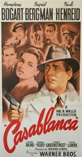 Casablanca Vintage 3 Sheet Movie Poster Fine Art Lithograph Humphrey Bogart S2