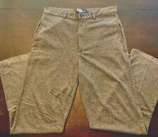 Vintage Ralph Lauren Mens Gray 100% Cotton Soft/light Casual Pants S(M) 34/30