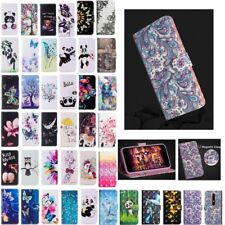 Patterned Magnetic Leather Flip Case Cover For Nokia 6 2018 7Plus 1 2 3 5 6 8Sir