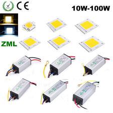 LED Driver LED COB Chip SMD10W20W30W50W70W100W High Power Supply Waterproof NEW