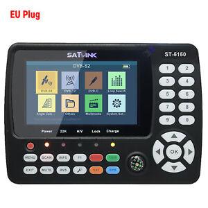 Sat Finder ST-5150 DVB-S2 / T2 / C COMBO HD Satelliten TV Satellitenfinder A5E6