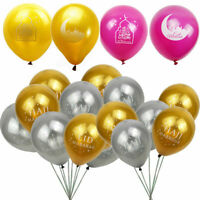 10Pc Eid Mubarak Ramadan Foil Balloons Kareen Hajj Islamic Party Festival Supply