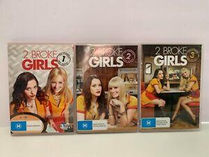 2 Broke Girls : Season 1, 2 & 3 TV Series DVD Set - 9 Discs R4