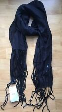 Vintage Armani Black Wrap Scarf Sequin New With Tags Evening Gala