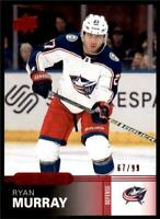2019-20 UD Overtime Wave 2 Base Red #72 Ryan Murray /99 - Columbus Blue Jackets
