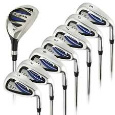 Ram Golf EZ3 Mens Right Hand +1 Inch Iron Set 5-6-7-8-9-PW-SW HYBRID INCLUDED