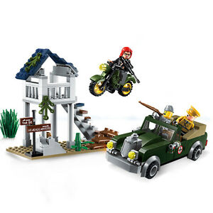 Military Series Special Assignment Building Blocks Bricks Model Toys