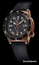New Zelos GREAT WHITE 1000M Bronze METEORITE Swiss Movement 44mm w/ WARRANTY