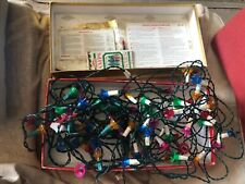 2 sets of VINTAGE CHRISTMAS Tree LIGHTS retro Noma etc