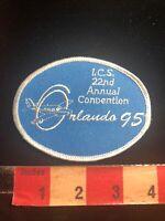 ICS INTERNATIONAL COMANCHE SOCIETY ORLANDO 1995 Aviation Airplane Patch 03WE