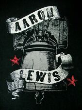 AARON LEWIS (STAIND) LIBERTY BELL - BLACK LARGE V-NECK WOMENS T-SHIRT A1705