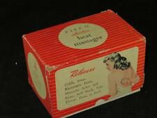 Vintage PIFCO Electric Heat Mssager with Instructions and Original Box 1950s
