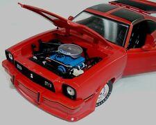 1978 Mustang II Red with Orange graphics King Cobra II 1:18 GreenLight 12879