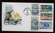 SPECIAL SALE US First Day COMBO Cover (Antarctic Explorers) 1988 Washington DC