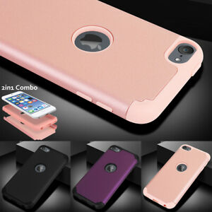 Slim Hybrid Rubber Heavy Duty Shockproof Case Cover For Apple iPod Touch 7 6 5th