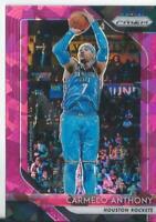 2018-19 Panini Prizm Prizms Pink Ice #59 Carmelo Anthony