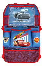 Cars Lightning McQueen Rückenlehnentasche Auto Spielzeugtasche NEU