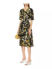 Max Mara Floral Joy Linen Cotton Dress