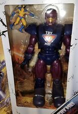 "Marvel Universe Masterworks Sentinel Purple & Wolverine 3.75"" MISB X-Men Legends"