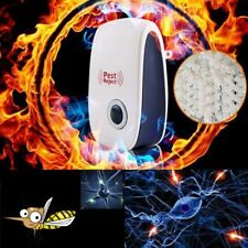 Ultrasonic Pest Repeller Control Rodent Rat Mouse Mice Spider Deterrent Reject