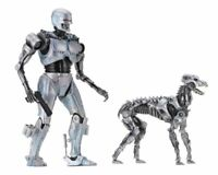 NECA Robocop Vs Terminator Endocop Cop & Terminator Dog Action Figure NEW