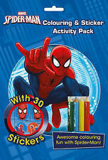 Marvel Spider-Man Colouring and Sticker Activity Pack: Awesome Colouring Fun with Spider-Man! by Parragon Books Ltd (Mixed media product, 2016)