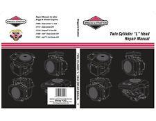 Twin Cylinder L-Head BRIGGS & STRATTON Repair Manual (Digital PDF) 271172