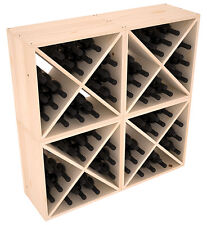 New listing 96 Bottle Kitchen Cube Wine Rack Kit in Ponderosa Pine. Hand Crafted in the Usa