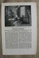 3 Blatt 1908/09 Rundschau Jugendstil Kunst Architektur Dampfer George Washington