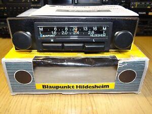 NEW Blaupunkt Hildesheim Rare Vintage 70s Car Radio Warranty NOS Boxed Unused