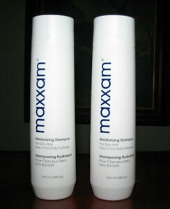 (2) MAXXAM Moisturizing Shampoos (for Dry Hair) HAIR CLUB FOR MEN/ WOMEN
