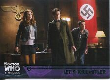 Doctor Who Timeless Green Parallel Base Card #80 Let's Kill Hitler