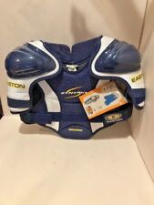 Easton Youth Hockey Synergy Shoulder Pads Youth Kids Med New!