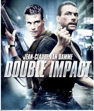 Double Impact (Jean-Claude Van Damme) Region 1 New DVD
