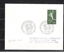 ec70/ Enveloppe   1er jour    championnat du monde de hand ball  Paris    1970