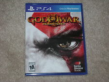 GOD OF WAR III REMASTERED...PS4...***SEALED***BRAND NEW***!!!!!