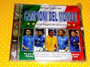 CAMPIONI DEL MONDO  -  UNA LEGGENDA AZZURRA  -  CD 2006  NUOVO E SIGILLATO