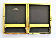 Dunhill Black Leather  Cigarette Case Germany Superb Condition