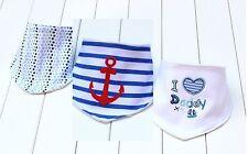 Bandana Bibs dribble boy I Love Daddy 3 pcs Baby Toddler blue