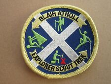 Blair Atholl Explorer Scout Trek Cloth Patch Badge Boy Scouts Scouting L5K G