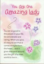 Blue Mountain Arts Greeting Card, YOU ARE ONE AMAZING LADY